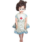 Vintage Red Cross or Nurse Doll