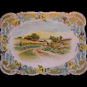 1912 Diecut Reward of Merit School Embossed Card