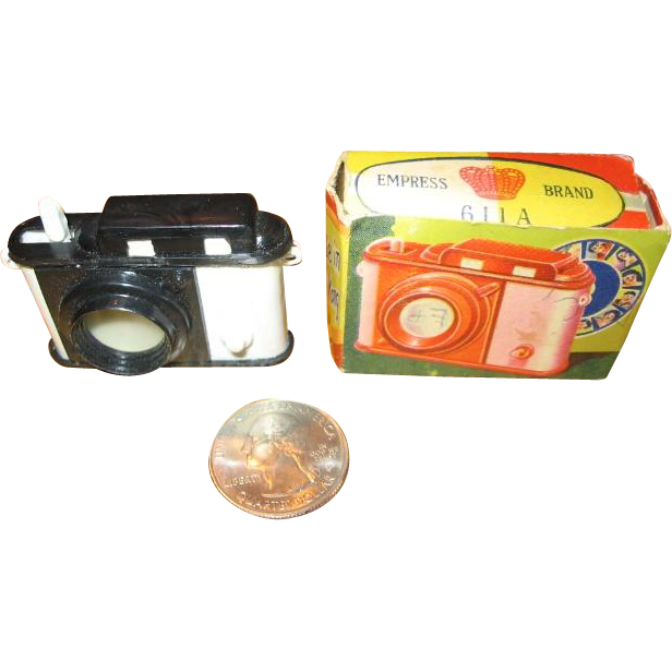 Miniature Camera for Bears or Doll Display