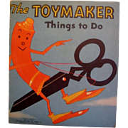 1930s Kids Toys to Make Booklet Paper Toys