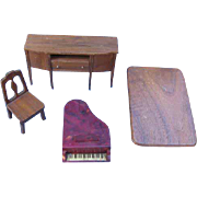 Marked Strombecker Dollhouse Furniture TLC