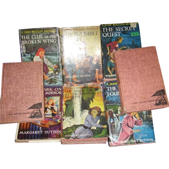 Vintage Judy Bolton Mystery Books 8 From 1950s 1960s