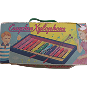 Vintage Toy Xylophone by Cragstan