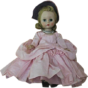 Rare Madame Alexander-Kin Southern Belle in Pink 1956