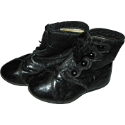 Victorian Hightop Button Baby Shoes with Tassels