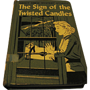 American Publishers Corp Nancy Drew The Sign of the Twisted Candles Library Bound Edition