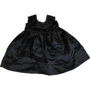 Vintage Dark Navy Blue Doll Dress