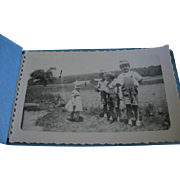3 Snapshot Albums from 1940s Filled with Kids and Haines York Pa Shoe House