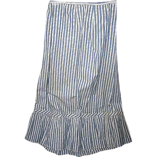Pristine Antique Skirt for Collection or Re-enactments
