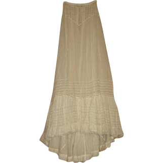 Bustle Petticoat from Victorian Era