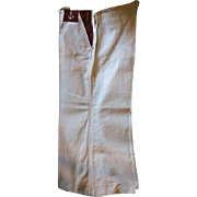 Vintage Linen Boys Sailor Type Pants