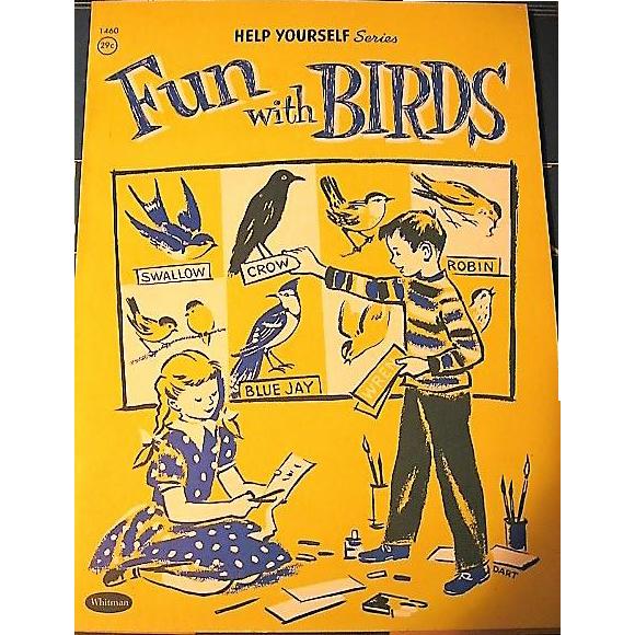 Fun with Birds 1958 Kids Book