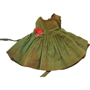 Pretty Green Dress for Alexander-kins Doll