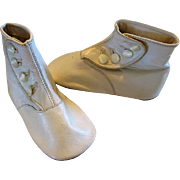 Sweet Soft Leather Baby Shoes in Excellent Condition