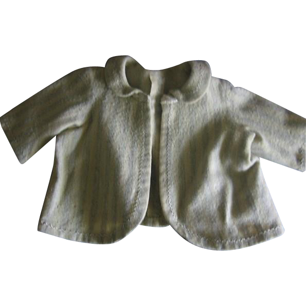 Wool Striped Doll Jacket for Bear or Doll