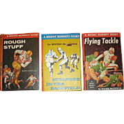 3 Bronc Burnett Story Books About Sports