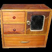 Miniature Dresser Made in Occupied Japan