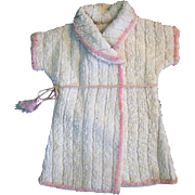 Nice Vintage Doll Terrycloth Robe