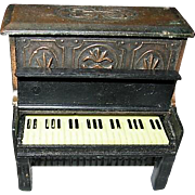 Miniature Metal Piano Pencil Sharpener for Dollhouse