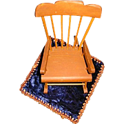 Vintage Doll Chair for Ginny Size Dolls
