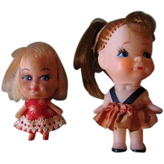 Little Kiddle Doll with Pinback and Other Kiddle