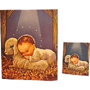 Adorable 2 Part Christmas Greeting Cards