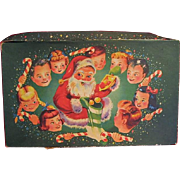 Vintage Childrens Wonderful Christmas Greeting Cards 1940s Era in Box