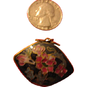 Small Cloisonne Pendant Use for Fancy Doll Purse