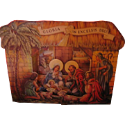 Christmas Nativity 3 D Card