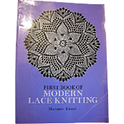First Book of Modern Knitting by Marianne Kinzel