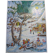 Vintage Advent Calendar from Western Germany