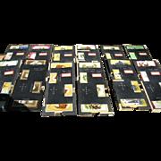 Vintage Duplicate Bridge Boards and Cards Set