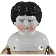 China Head Doll Seldom Seen Mold c1890 ABG