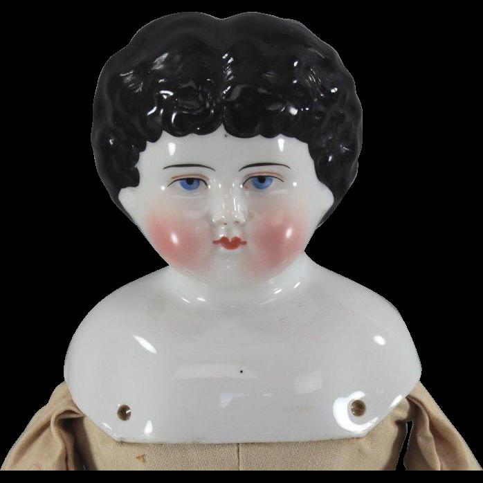 China Head Doll Seldom Seen Mold c1890 ABG