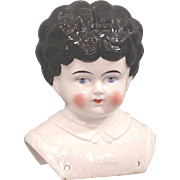 "Pet Name China Doll Head ""MABEL"" Large Size"