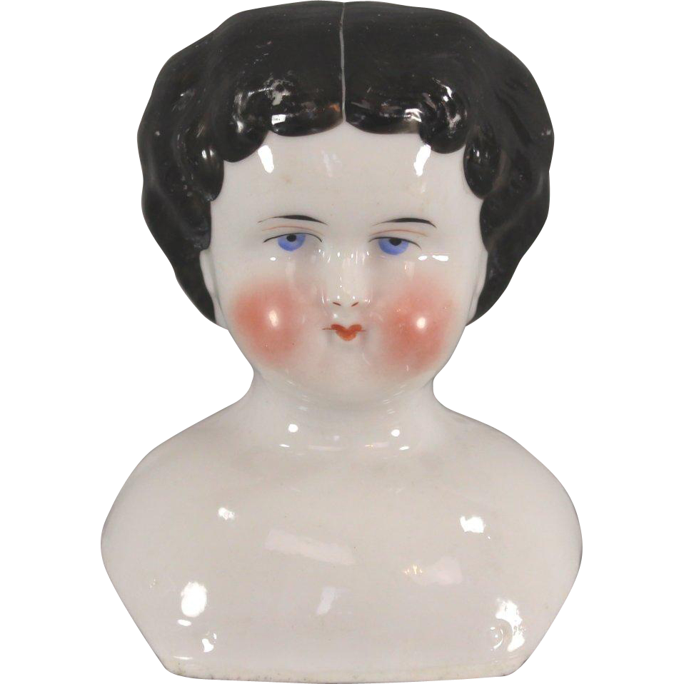 China Doll Head c1860 Excellent Condition Last Chance