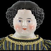 Civil War China Head Doll Large Size Choice Head
