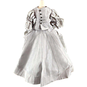 Vintage Doll Dress Two Pieces Taffeta