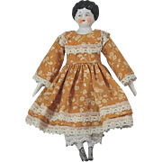 China Head Doll Antique 7.5 Inches Tall