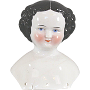 China Doll Head 1860 Shoulder Damage 5 Inches