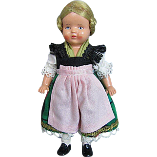 Vintage Celluloid Doll Perfect Condition