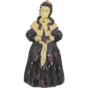 Pen Wipe Early Gutta Percha Lady Dickensian Look