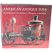 Book American Antique Toys Hard Cover Beautifully Illustrated