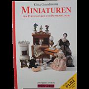 Book Miniatures for Dolls and Dollhouses by Gitta Grundmann Ciesliks