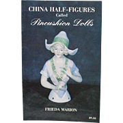 Book China Half-Figures called Pincushion Dolls by Frieda Marion Signed
