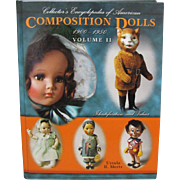 Doll Book Collector's Encyclopedia of American Composition Dolls 1900 - 1850 Volume 2