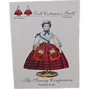 Doll Costumers Guild The Sewing Companion Premiere Issue Patterns
