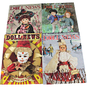 Doll News Magazine 2010 Complete Set of Four Issues UFDC Free Shipping (CUSA Only)