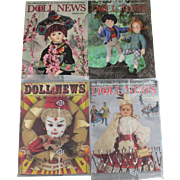 Doll News Magazine 2010 Complete Set of Four Issues UFDC Two Unopened Free Shipping (CUSA Only)