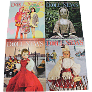 Doll News Magazine 2011 Complete Set of Four Issues UFDC Free Shipping (CUSA Only)